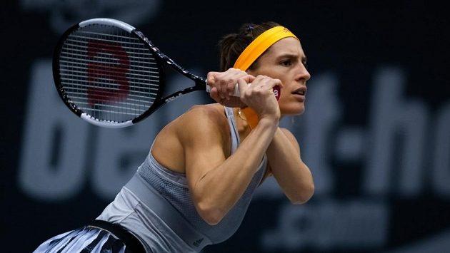 Německá tenistka Andrea Petkovicová na turnaji v Linci.
