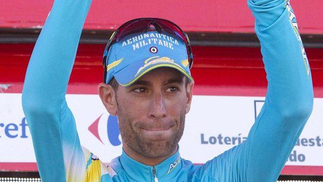 Italský cyklista Vicenzo Nibali dojel za vítězným Hornerem do cíle s téměř minutovou ztrátou.
