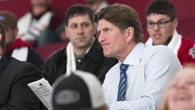 Kouč Toronta Mike Babcock povede hokejisty Kanady při SP v roce 2016.