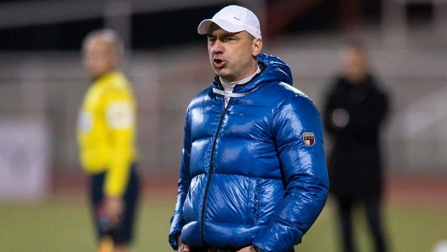 Liberecký trenér Jindřich Trpišovský.