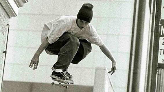 Americký skateboardista Keith Hufnagel - archivní foto