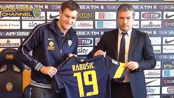 Exliberecký Michal Rabušic bude ve Veroně nosit dres 19.