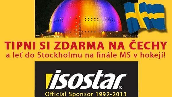 Isostar - Tipni si zdarma na Čechy!