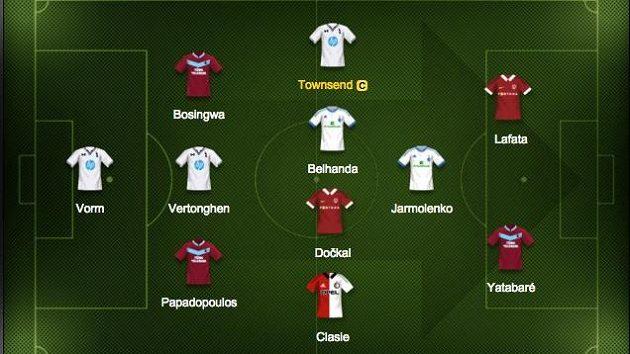 Kapitánem našeho výběru je záložník Tottenhamu Townsend.