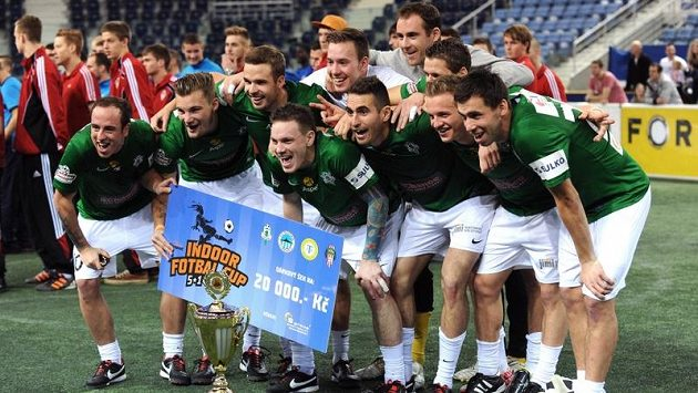 Hráči Jablonce ovládli halový turnaj Indoor Fotbal Cup v liberecké Tipsport areně.