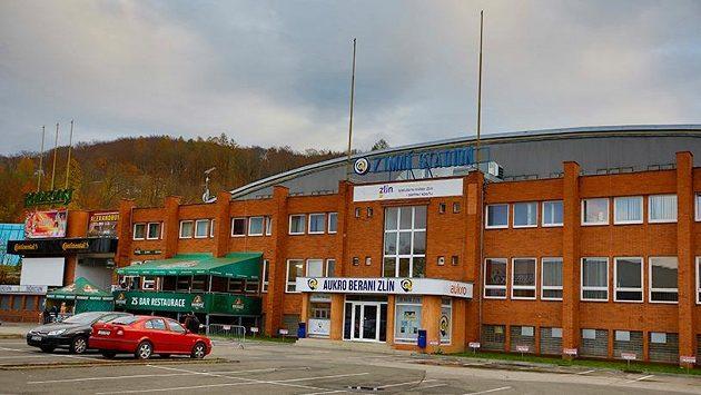 Zlínský zimní stadion.