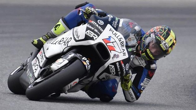 Český jezdec kategorie MotoGP Karel Abraham.