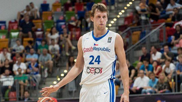 Český basketbalista Jan Veselý.