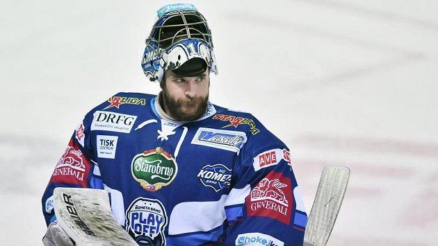 Brankář Marek Čiliak vychytal Kometě v Liberci dvě výhry.