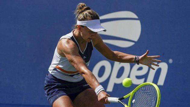 Barbora Krejčíková na US Open