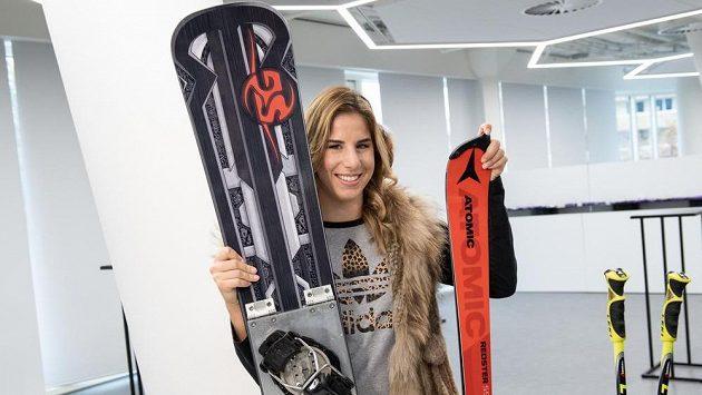 Dvojnásobná olympijská vítězka, snowboardistka a lyžařka Ester Ledecká. SP v Bad Gasteinu se nezúčastnila.