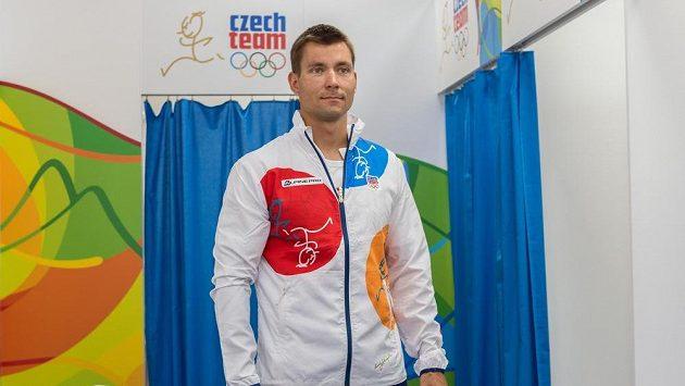 Kajakář Jan Štěrba.