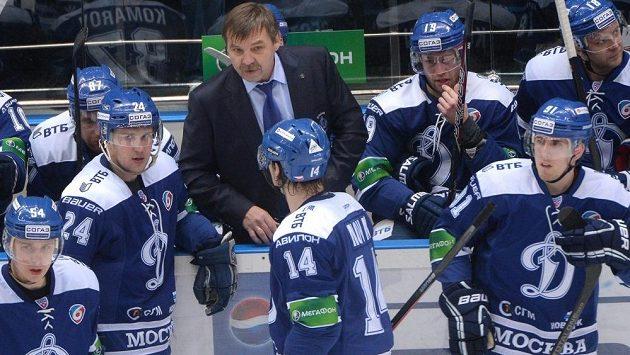 Olegs Znaroks ještě na střídačce Dynama Moskva. Teď chce pozvednout ruskou reprezentaci.