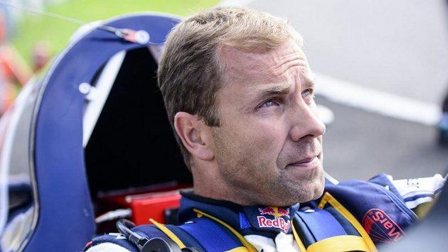 Martin Šonka během kvalifikace v Kazani.