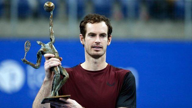 Andy Murray vyhrál turnaj po zranění kyčle.
