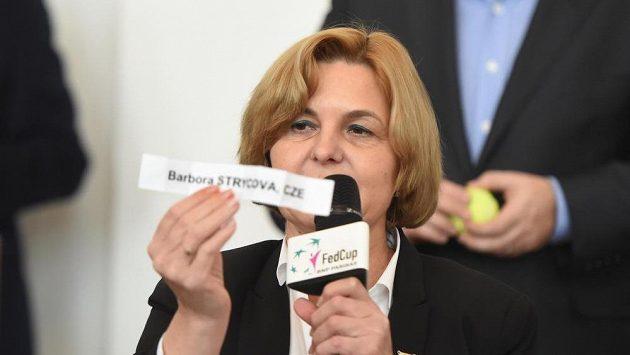 Barbora Strýcová odehraje první zápas se španělskou jedničkou Garbiňe Muguruzaovou.