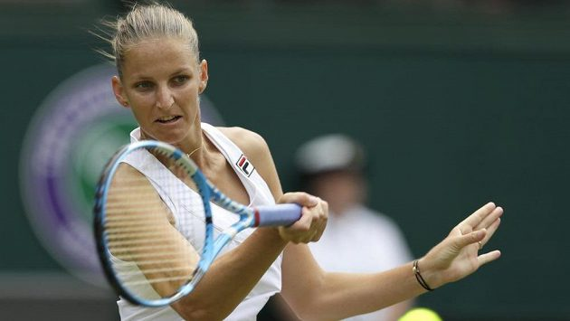 Karolína Plíšková předvedla ve druhém kole Wimbledonu proti Viktorii Azarenkové skvělý výkon