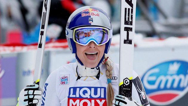 Američanka Lindsey Vonnová ovládla superobří slalom Světového poháru ve Val d´Isere