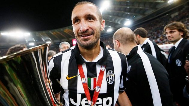 Giorgio Chiellini má smůlu, na finále Champions League se bude dívat jen z hlediště.