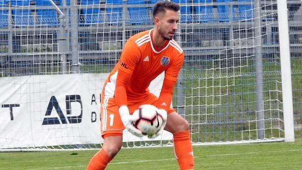Fotbalový brankář Luděk Vejmola (ilustrační foto)