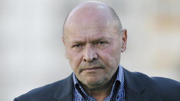 Trenér mladoboleslavských fotbalistů Miroslav Koubek