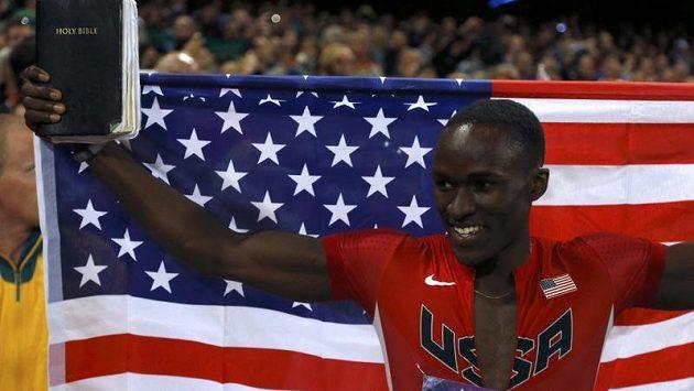 Američan Will Claye jako první skokan po 76 letech dokázal na jedné olympiádě vybojovat medaili v dálce i trojskoku