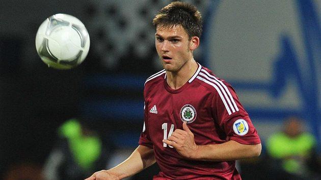 Valerijs Šabala je novou posilou příbramských fotbalistů.