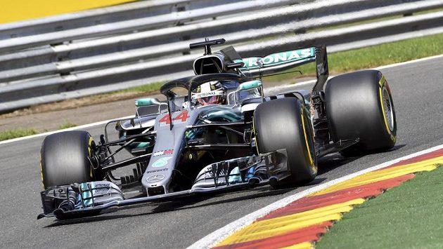 Kvalifikaci na Velkou cenu Belgie formule 1 vyhrál Lewis Hamilton z Mercedesu.