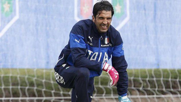 Italský kapitán Gianluigi Buffon.