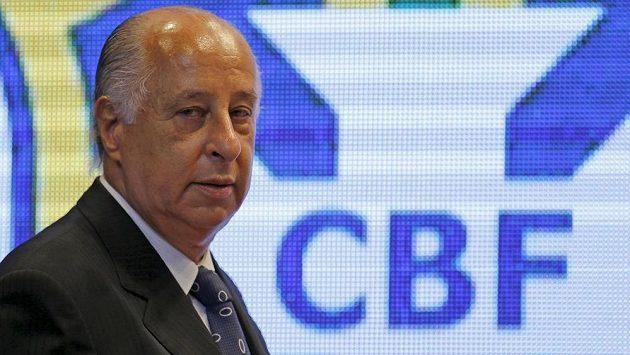 Předseda brazilského fotbalu Marco Polo Del Nero.