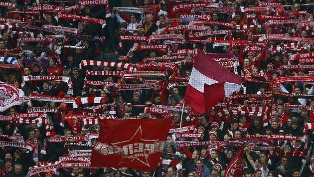 Příznivci Bayernu Mnichov.
