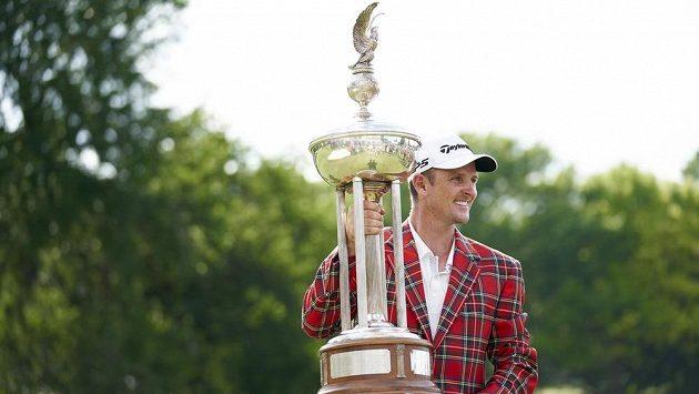 Olympijský vítěz Justin Rose vyhrál s převahou golfový turnaj PGA Tour ve Fort Worthu.