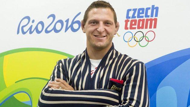 Judista Lukáš Krpálek v olympijské kolekci.