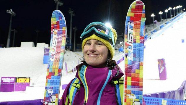 Česká lyžařka Nikola Sudová po neúspěšné kvalifikaci.
