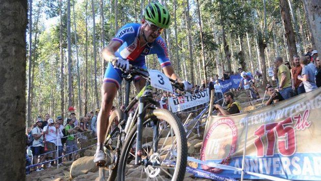 Biker Ondřej Cink bude v Baku usilovat o úspěch v cross country.