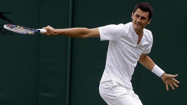 Australan Bernard Tomic skončil na letošním Wimbledonu hned v 1. kole.
