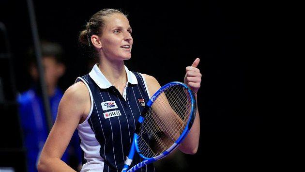 Karolína Plíšková vybojovala postup do semifinále Turnaje mistryň