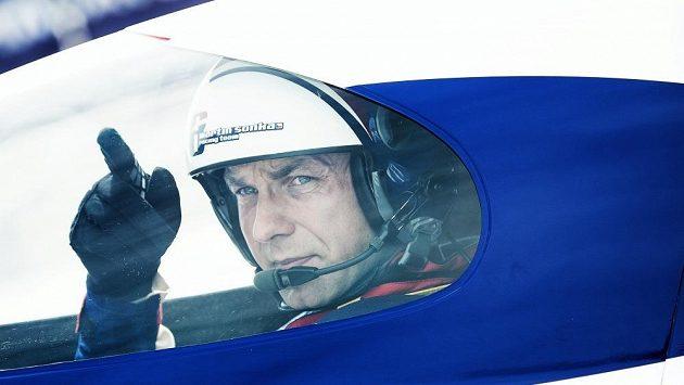 Český akrobatický pilot Martin Šonka.