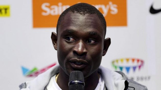 Keňský běžec David Rudisha