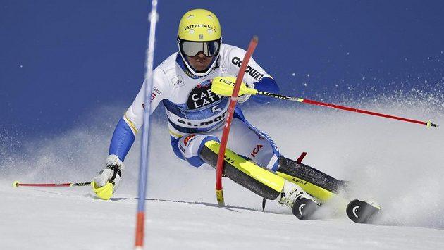 Švédský lyžař Andre Myhrer.
