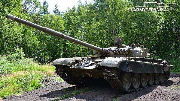 tank T-72M