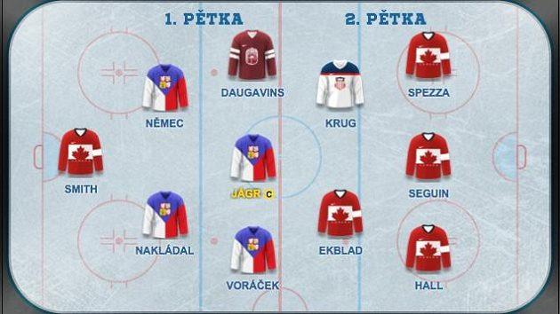 Jaromír Jágr si přivezl formu z NHL i na světový šampionát.