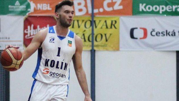 Kolínský rozehrávač Adam Číž se stal držitelem ocenění MVP pro nejužitečnějšího hráče Národní basketbalové ligy.