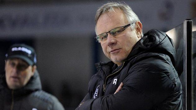 Kladenský trenér Zdeněk Vojta.