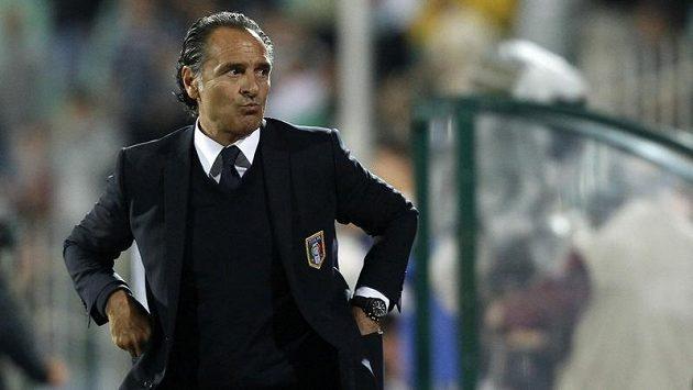 Kouč italských fotbalistů Cesare Prandelli