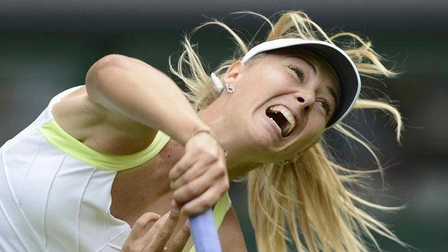 Ruská tenistka Maria Šarapovová je jednou z nejhlučnějších hráček na okruhu WTA.