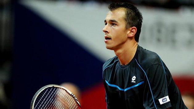 Lukáš Rosol v Moskvě vypadl ve čtvrtfinále.
