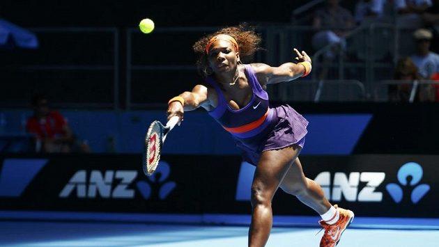 Americká tenistka Serena Williamsová na Australian Open