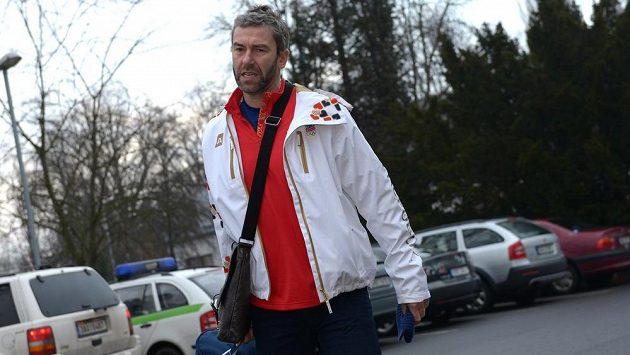 Hokejový útočník Petr Nedvěd.