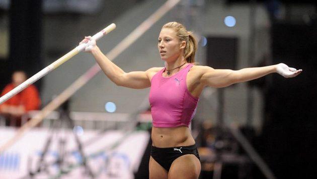 Jiřina Svobodová bude v Göteborgu patřit mezi favoritky tyčkařské soutěže.